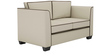 Carolina Sofa Set (3+2) Seater in Beige Color by ARRA