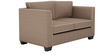 Carolina Sofa Set (3+2) Seater in Coffee Color by ARRA