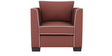 Carolina Sofa Set (3+2+1+1) Seater in Cherry Color by ARRA