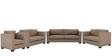 Carolina Sofa Set (3+2+2+1) Seater in Coffee Color by ARRA