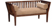 Kelso Two Seater Sofa in Provincial Teak Finish by Woodsworth
