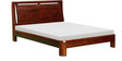 Tigerton King Size Bed in Honey Oak Finish by Woodsworth