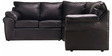 Casabelle Comfy Modular Sectional Sofa in Black Colour by Furny