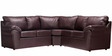 Casabelle Comfy Modular Sectional Sofa in Brown Colour by Furny