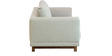 Catalunya Three Seater Sofa In Pale Earl Grey By CasaCraft