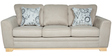 Catherine Three Seater Sofa in Beige Colour by HomeTown