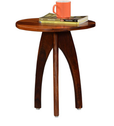Casa Rio End Table in Honey Oak Finish by Woodsworth
