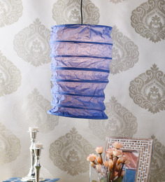 Trapani Paper Lantern in Teal by Mintwud