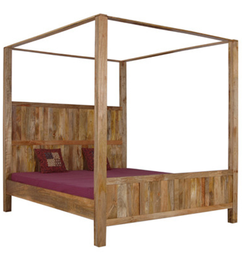 Buy Cayenne Finely Designed Four Poster King Size Bed By