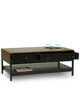 Cagli Coffee Table in Walnut Finish by The ArmChair