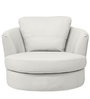 Caleen Accent Chair in White Colour by Madesos