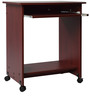 Caliber 201 Study Table in Red Maple Finish by Godrej Interio