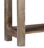 Calgary Console Table in Natural Mango Wood Finish by Woodsworth