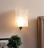 Calliope Wall Light in White by CasaCraft