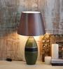 Horado Table Lamp in Grey by CasaCraft