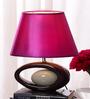 Samuelle Table Lamp in Purple by Bohemiana