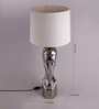 Vanessa Table Lamp in White by Bohemiana