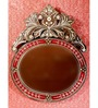 Calvacamp Decorative Mirror in Red by Amberville