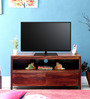 Oakland Entertainment Unit in Provincial Teak Finish by Woodsworth
