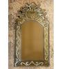 Camilla Decorative Mirror in Silver by Amberville