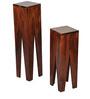 Stevenson End Tables in Honey Oak Finish by Woodsworth