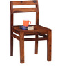 Dallas Dining Chair in Honey Oak Finish by Woodsworth