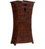 Huttington Chest of Drawers in Light Brown Finish by Woodsworth