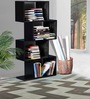 Madison Zig Zag Display Unit in Espresso Walnut Finish by Woodsworth