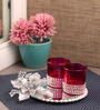 Candles N Beyond Red Votive Tea Light Holder