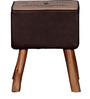 Fergie Stool in Brown Colour by Bohemiana