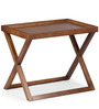 Capri Coffee Table in Brown Colour by HomeHQ