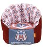 Captain America Filled Bean Sofa by Orka