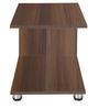 Caramel Side Table in Acacia Dark Matt Finish by Debono