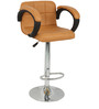 Caremal Bar Chair in Tan Color by The Furniture Store
