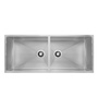 Carysil Quadro Stainless Steel Double Bowl Kitchen Sink (Model No: Qdb45209)