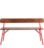 Henday Bench in Dual Tone Finish by Bohemiana