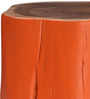 Bowie Stool in Acacia Wood in Distress Finish by Bohemiana