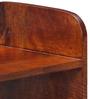 Savannah Shoe Rack in Honey Oak Finish by Woodsworth