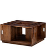 Duvall Coffee Table in Provincial Teak Finish by Woodsworth