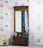Illinois Dressing Table in Provincial Teak Finish by Woodsworth