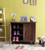 Belvidere Shoe Rack in Provincial Teak Finish by Woodsworth