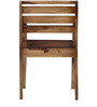Winona Arm Chair in Provincial Teak Finish by Woodsworth