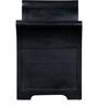 Memphis Bench With Storage in Espresso Walnut Finish by Woodsworth
