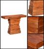 Weston Console Table in Honey Oak Finish by Woodsworth