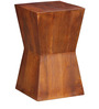 Memphis End Table in Honey Oak Finish by Woodsworth