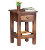 Norfolk End Table in Provincial Teak Finish by Woodsworth