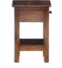 Memphis End Table in Provincial Teak Finish by Woodsworth