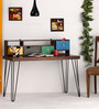 Geyer Rio Study & Laptop Table in Provincial Teak Finish by Bohemiana