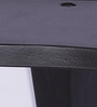 Liliana Wall Shelf In Black by CasaCraft