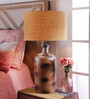 Marcelo Table Lamp in Brown by CasaCraft